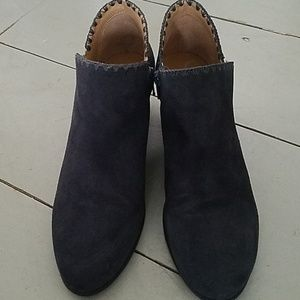 Jack Rogers Shoes - Jack Rogers Gray Suede Ankle Bootie- Worn once